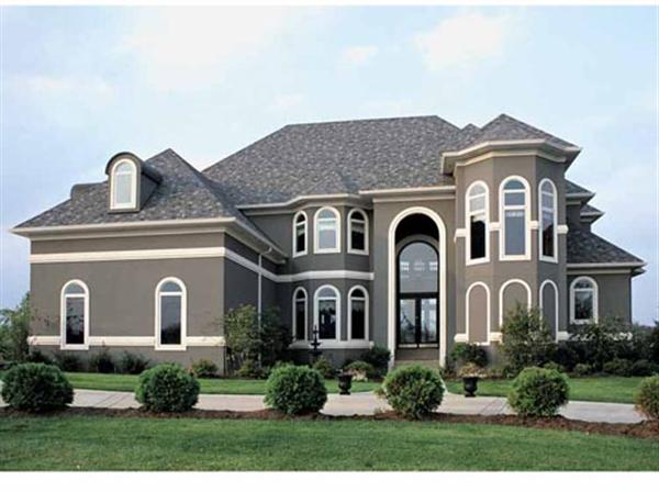 Residential muir painting for Mediterranean style house exterior
